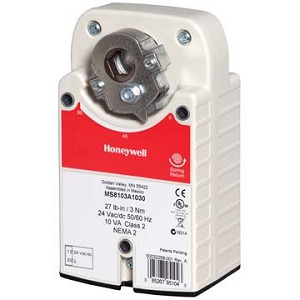 Honeywell HONEYWELL 24VAC SYLK-ENABLED MODULATING 44 LB-IN SPRING RETURN DIRECT COUPLED ACTUATOR W/2 AUX SWITCHES